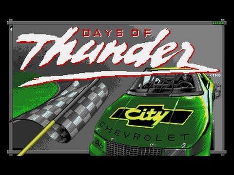 days of thunder amiga game