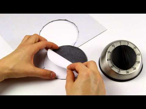 Attach self-adhesive magnetic sheet to any metallic surface - supermagnete