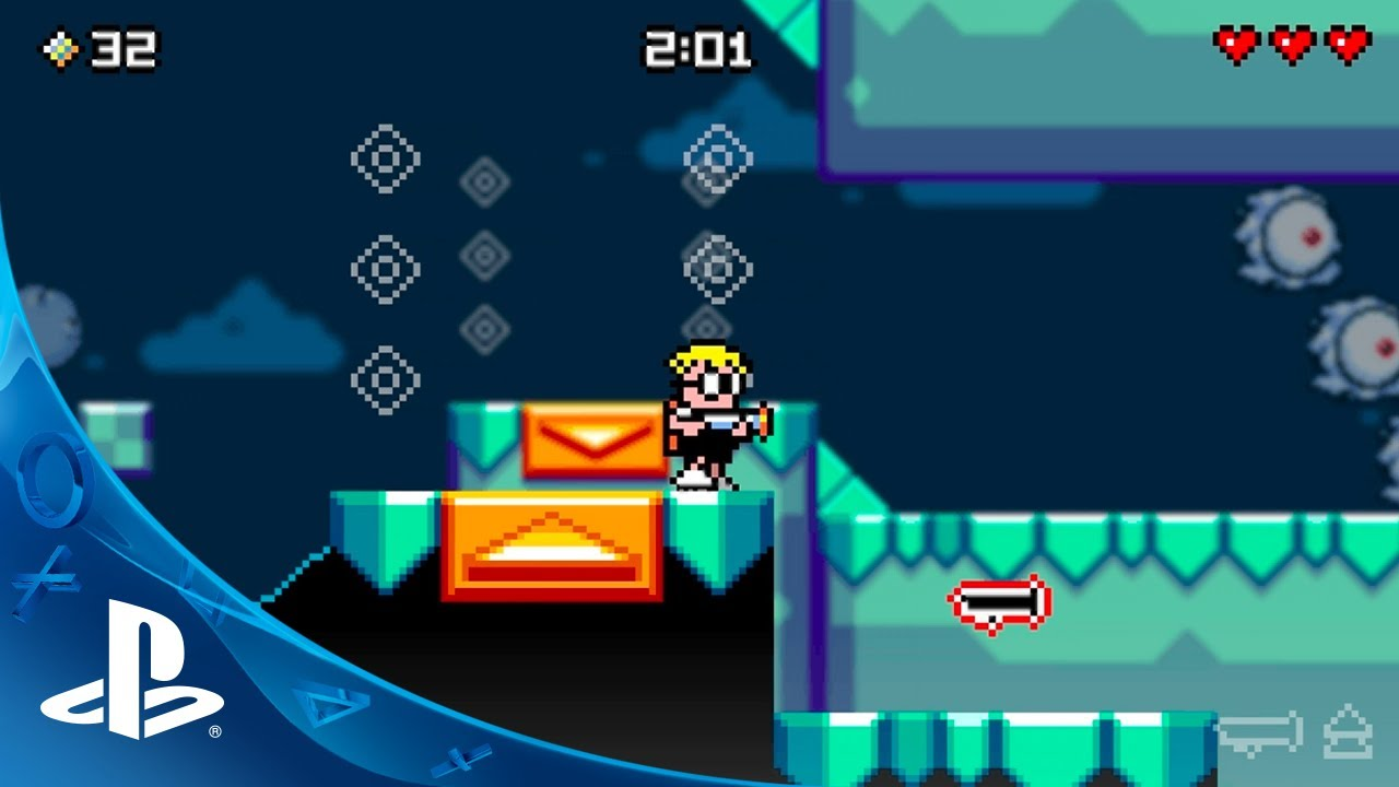 Mutant Mudds Deluxe Makes a Splash on PS3 and PS Vita Today