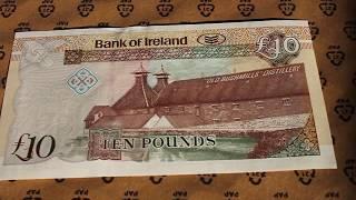 10 Pound Northern Ireland Whisky Distillery Note