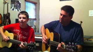 I Don't Want To Spoil The Party -  Father & Son Acoustic Guitar Duo - Beatles Cover