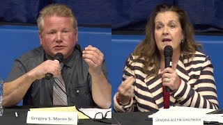 Preston first selectman debate