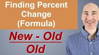 Finding Percent Change (Formula)