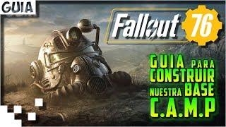 Fallout 76 - Guia para construir nuestra base C.A.M.P.