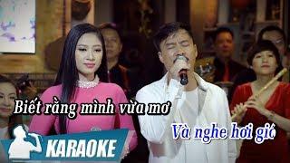 [KARAOKE] Sầu Tím Thiệp Hồng - Quang Lập & Kim Yến