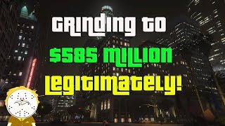 GTA Online Grinding To $585 Million Legitimately And Helping Subs