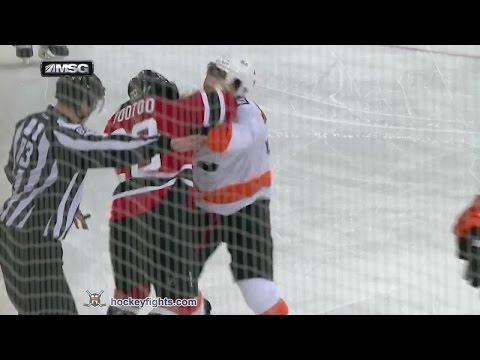 Zac Rinaldo vs Jordin Tootoo