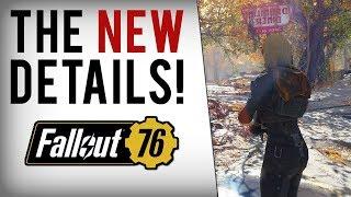 FALLOUT 76 NEW INFO! DLC Plans, Leveling, Perks & Online Devs Warn Bethesda!