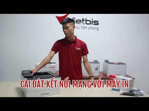 Cách cài đặt kết nối mạng với máy in như thế nào ? - Canon LBP214dw