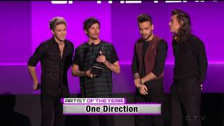 One Direction (winner of artist of the year) - 2015 American Music Awards