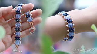 Simplicity Bracelet DIY. Quick And Easy To Make Beaded Jewelry