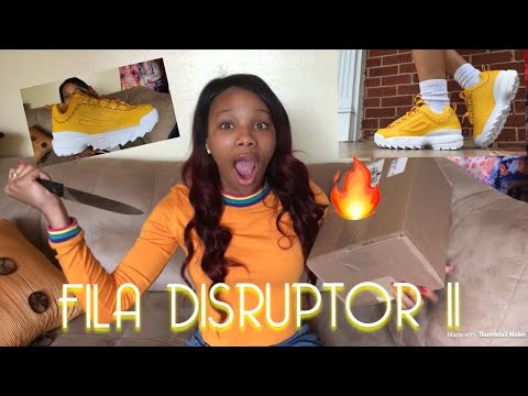UNBOXING FILA DISRUPTOR II | REVIEW + ON FEET