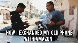 BOUGHT NEW SAMSUNG GALAXY M51 FROM AMAZON   HOW TO EXCHANGE OLD PHONE WITH AMAZON   sansCARi sumit
