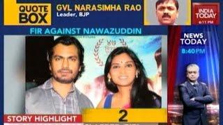 Nawazuddin Siddiqui's Wife Files FIR Against Forced Entry