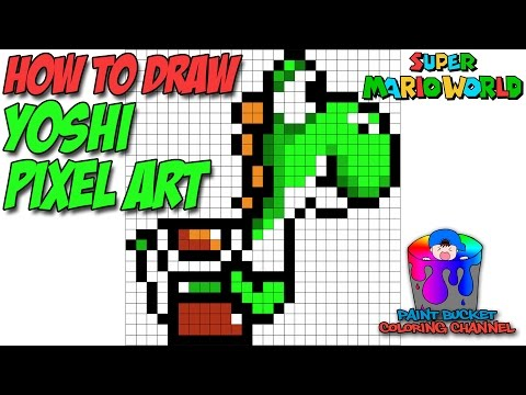 how to draw mario from super mario bros