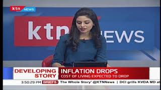Cost of living expected to drop in Kenya as inflation drops to 4.1%