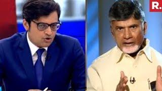 Arnab Goswmai Speaks To Chandrababu Naidu | EXCLUSIVE Interview