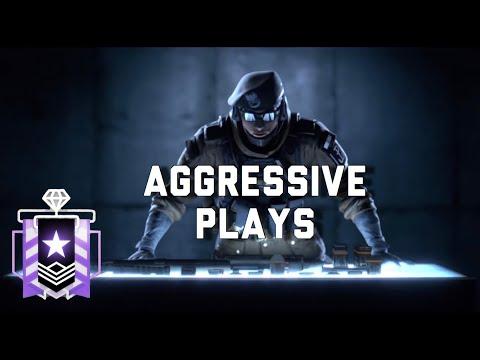 AGGRESSIVE PLAYS  - Rainbow Six Siege Console Diamond
