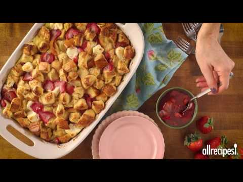 Breakfast Recipes – How to Make Strawberry Cream Cheese French Toast