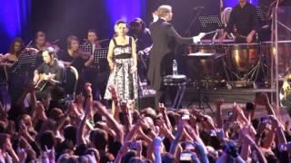 Louna с симфоническим оркестром Глобалис  - Штурмуя небеса 19.11.2015 в Крокус Сити Холл г.Москва