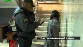 Девушка устроила истерику в милиции