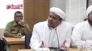 Manatappp Soal Ahok Ini DiaDialog Ekslusif DPRD DKI Dengan Habib Rizieq