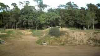 preview picture of video 'schöne Motocross-Strecke b. Walldorf'
