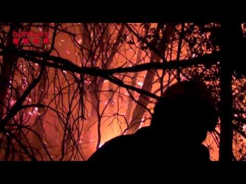Foc Forestal Vilopriu (Baix Empordà)