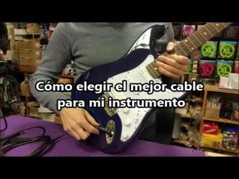 [TIPS] Cómo elegir el mejor cable para mi instrumento
