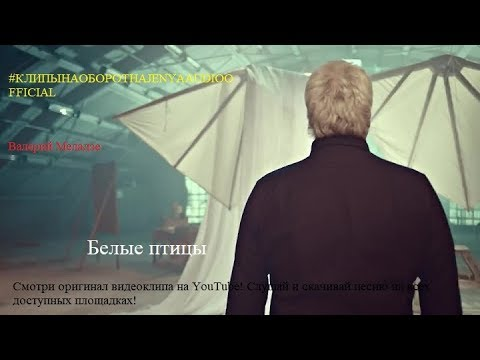Валерий Меладзе - Белые птицы [#КЛИПЫНАОБОРОТНАJENYAAUDIOOFFICAL]