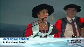 Kirsty Sword Gusmão Receives An Honorary Degree From Victoria University
