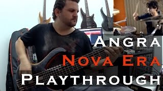 Felipe Andreoli/Bruno Valverde - Nova Era - Angra [Bass and Drums Playthrough]