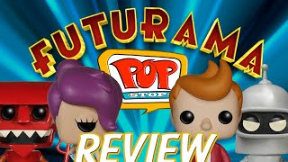 Funko Pop Review | Futurama (TV Series) Full Set
