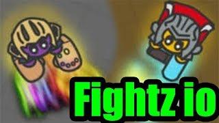 Fightz.io Эволюция бойца в новой ио игре Файтс ио