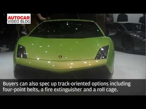 Geneva motor show: Lamborghini Gallardo Superleggera by autocar.co.uk
