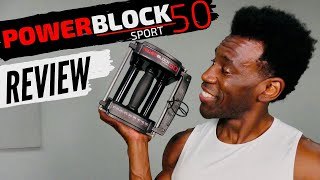PowerBlock Sport 50 DUMBBELLS REVIEW
