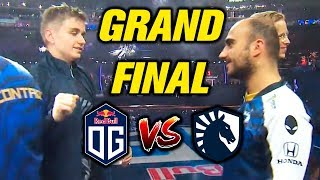 LIQUID vs OG - GRAND FINAL - THE INTERNATIONAL 2019 DOTA 2