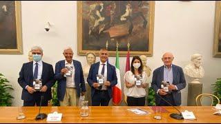 """Presentazione del libro di Alfonso Pecoraro Scanio """"La lezione di Marco"""", Campidoglio (29-07-2021)"""