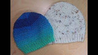How To Knit Toddlers Hat Or Beanie