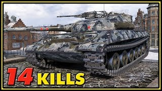 Object 430U - 14 Kills - World of Tanks Gameplay