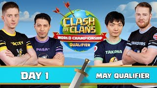 World Championship - May Qualifier - Day 1 - Clash of Clans