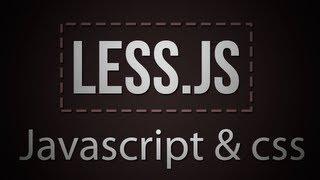 Tutorial como hacer hojas de estilos CSS dinamicas con Less.js (libreria Javascript)