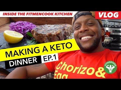 Vlog: Making A Keto Dinner – Pork Loin & Mash EP.1 / Cena Cetogenica – Lomo de Cerdo