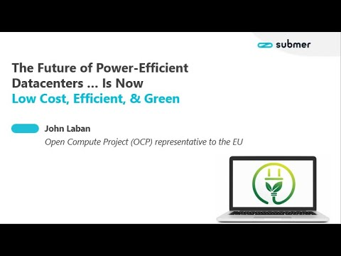 Webinar  Presentation– The Future of Power-Efficient Datacenters