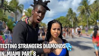 TESTING STRANGERS DIAMONDS🥶💎 PT. 8 SPRING BREAK EDITION | PUBLIC INTERVIEW