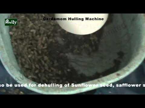 Cardamom Shelling