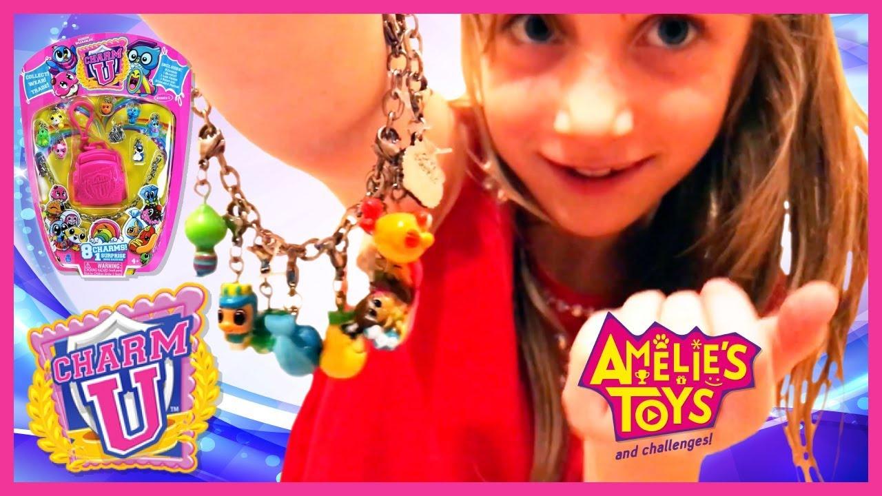 Unboxing Charm U Bracelet | Amelie's Toys & Challenges