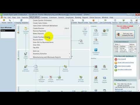 QuickBooks Training - Premier and Enterprise