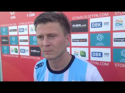 Paweł Łukasik o meczu Stomil Olsztyn - GKS Tychy 2:2