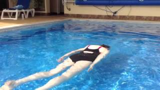 Swimming Without Stress: Jacquie September 2014, Coming Up For Air